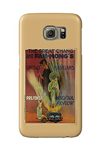 - Hong's - Oriental Review Vintage Poster Spain c. 1922 (Galaxy S6 Cell Phone Case, Slim Barely There) ()