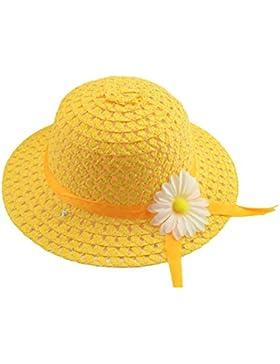 Doitsa sombrero de paja niño Niña–Panama sombrero niños Ete–Gorra de playa niño–gastos y transpirable–...