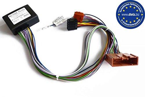 DIETZ 17063 Aktivsystemadapter/Bose Adapter/Stecker für MAZDA auf ISO