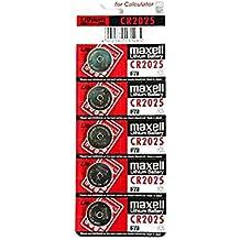 NUEVO 5x Maxell CR2025Litio Pilas 3V Pila de botón CR 2025DL2025