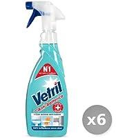 Vetril Set 6 Multisuperfici Anti batterico Trigger 6 50 ml Prodotto per la casa