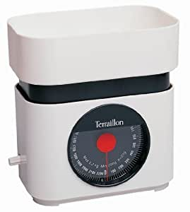 Terraillon 3107 balance de cuisine m canique ba 22 blanc 2 - Balance mecanique cuisine ...