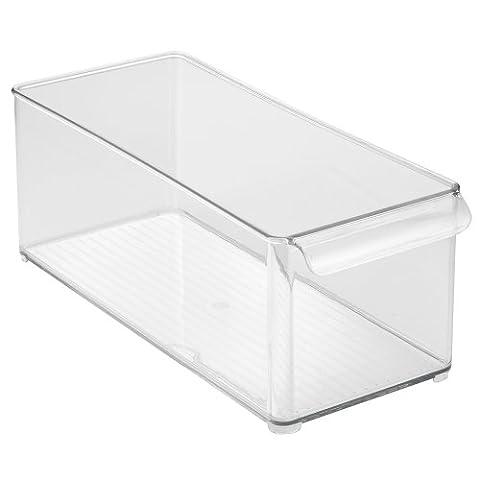 InterDesign Refrigerator and Freezer Storage Organizer Bins for Kitchen - 6