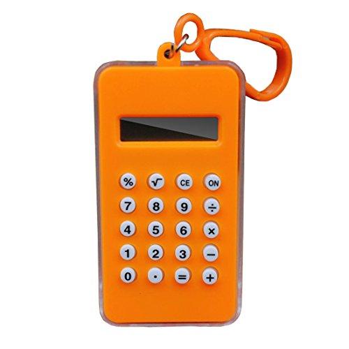 FineInno Taschenrechner Rechner Rechentrainer Calculator Übungsgerät Geschenk für Klein Kinder Jungen Mädchen Vorschul Lernspielzeug (1 Stück)
