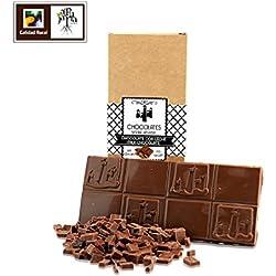 Chocolate con leche artesano sin azúcar