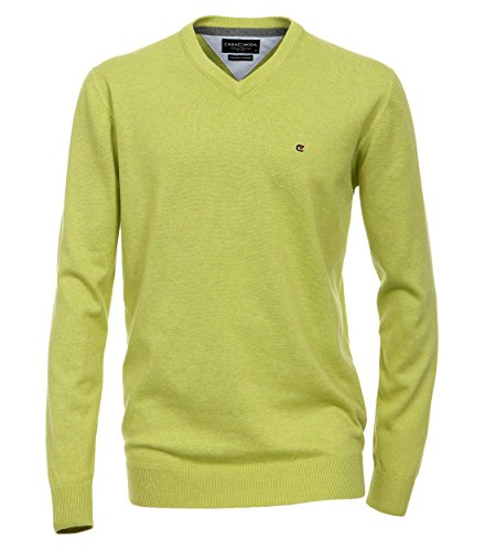 Casa Moda - Herren Pullover mit extra langem Arm (72 cm) und V-Ausschnitt in verschiedenen Farben (401300202) Braun (24)