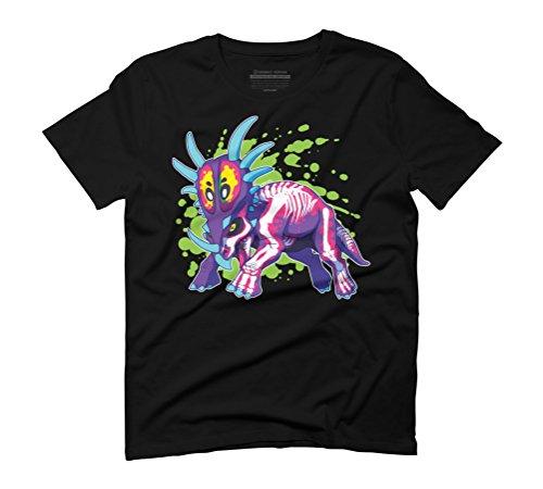 Radioactive Styracosaurus Men's Graphic T-Shirt - Design By Humans Black