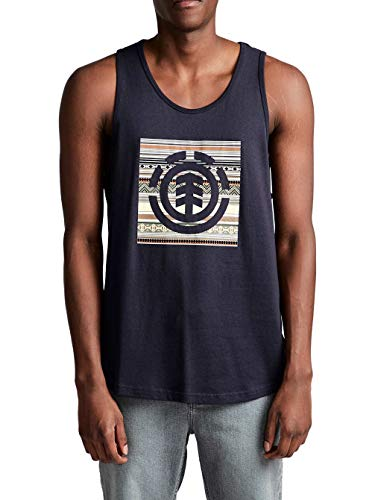 Element Herren Tank Top Indiana Block Fill Tank Top -