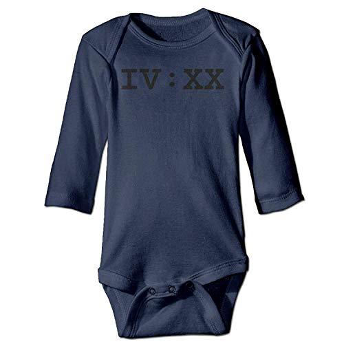 MSGDF Unisex Toddler Bodysuits 420 Pot Smokers Boys Babysuit Long Sleeve Jumpsuit Sunsuit Outfit Navy