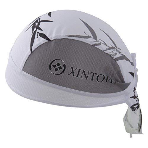 HYSENM Bandana Unisex Schnell-trocken Anti-UV für Radsport Motorrad Kopftuch Cap, Bambus