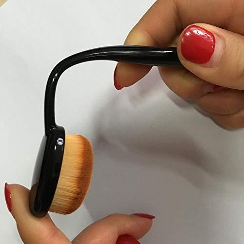 HOQING Augen Gesichts Lippen Professionelle Kosmetik Werkzeuge Make-Up Pinsel Sets Professionelle Einsteiger-10-Trompete Mit Galvanischer Zahnbürste