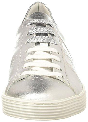 BIKKEMBERGS Damen Words 889 Niedrige Sneaker Nero (Black/silver)