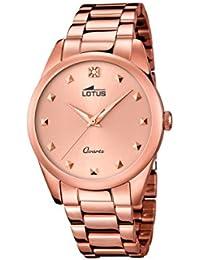 Lotus 18144/2 - Reloj de pulsera Mujer, color Oro Rosa