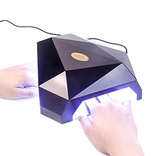 60W 2 Manos LED UV Lámpara Secador uñas Gel Uña