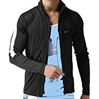 Men's Jacket Full Sleeves - Reflector Brand Logo Zipper Jacket for Man Gents Boys