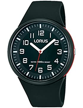 Lorus Damen-Armbanduhr Fashion Analog Quarz Kautschuk RRX47DX9