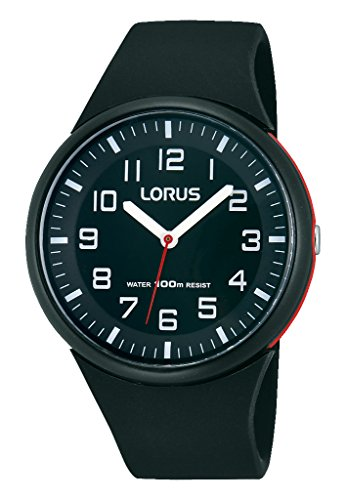 Lorus Ladies Watch Analogue Rubber Quartz Fashion RRX47DX9