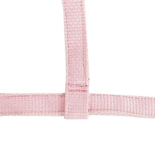 netproshop Pferde Fohlen-Halfter Dreifach Verstellbar Auswahl, Farbe:rosa