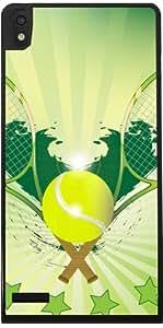 Hülle für Huawei Ascend P6 - Tennisball