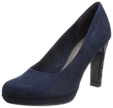 Tamaris 1-1-22417-21, Escarpins femme - Bleu (Navy), 42 EU