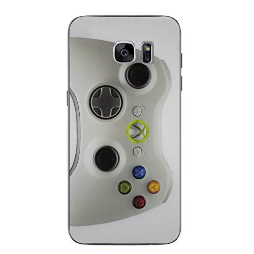 Konsolensteuerung Telefon Hülle/Case für Samsung Galaxy S7 Edge (G935) mit Displayschutzfolie/Silikon Weiches Gel/TPU / iCHOOSE/Xbox 360 (Klein) (Xbox 360 Spiele Für Kleine Jungen)