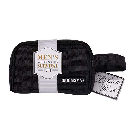 Lillian Rose Groomsman kit de survie, Multi, Sac Dimensions : 13,3 x 10,2 cm