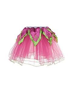 DREAMY DRESS-UPS 50447Rosa/Lima de Flores tutú Disfraz (Tamaño Mediano)