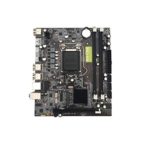 1156 Support (Noradtjcca P55 Computer Motherboard 1156 Pin Unterstützung für Core i3 i5 i7 Xeon Serie CPU allein ersetzen H55 für Computer)