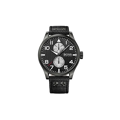 c7fb5db3d1f2 Hugo Boss Reloj analogico Hombre Cuarzo Correa Nailon