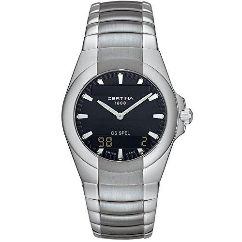 "CERTINA Herren-Armbanduhr Armband Edelstahl + GEHÃ""USE Quarz C19671554261"