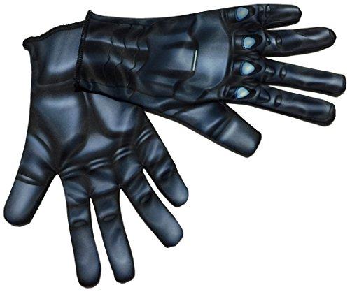 Rubie's Costume Co Women's Avengers 2 Age Of Ultron Adult Black Widow Gloves, Black, One (Black Widow Guanto)