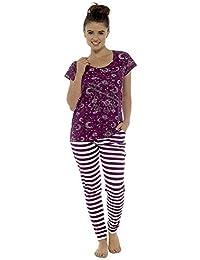 Tom Franks Womens Star Gazer Printed Combed Jersey Pyjamas a831e6f7a
