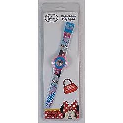 Disney Minnie Mouse Digital Wrist Watch Mis. CONF. CM 30x 10x 2- wd16856