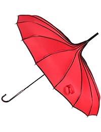 GSCshoe Paraguas de Lluvia y Lluvia con Mango Largo Creativo, versión Coreana
