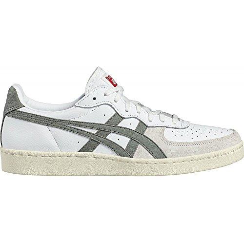 Asics Gsm, Sneaker a Collo Basso Unisex Adulto, Multicolore (White/Agave Green), 42.5 EU
