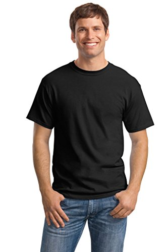 Hanes Big Mens ComfortSoft® T-Shirt Black