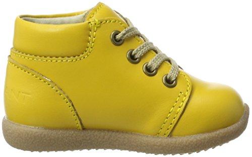 EN FANT Nova Lace Beginner Ss17, Chaussures Marche Bébé Fille Gelb (Yellow)