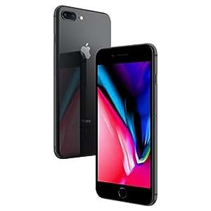 Apple iPhone 8 Plus Smartphone débloqué 4G (Ecran : 5,5 pouces - 64 Go - iOS 11) Gris sidéral