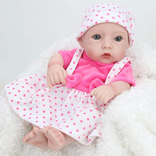 Reborn Baby Mini Dolls 10 Zoll Reborn Baby Doll für Mädchen Geschenk realistische Puppen Baby für Spielhaus Spielzeug Simulator Puppen - Simulator Baby
