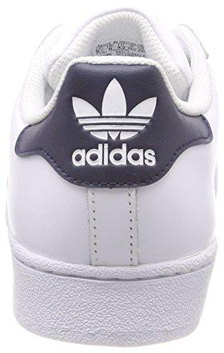 Adidas CM8082 Sneaker Homme Blanc (Footwear White/Collegiate Navy/Footwear White 0)