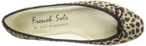 French Sole–India Smooth Leather–Ballerine Donna Multicolore (Multi PT124)