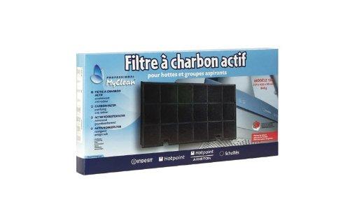 Filtre Charbon Type 150 435 X 217 M/m Référence : C00090799 Pour Hotte Ariston