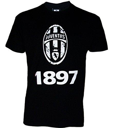 Juventus Turin Ragazzi T-shirt a maniche corte, collezione ufficiale, Ragazzo, nero, 10 anni