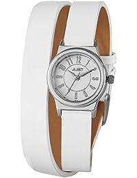 Just Watches Damen-Armbanduhr XS Analog Quarz Leder 48-S4062-WH