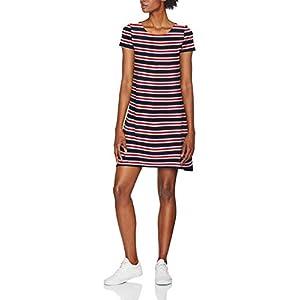 ONLY NOS Damen Onlbera Back Lace Up S/S Dress JRS Noos Kleid
