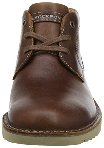 Rockport Herren Cabot Chukka Boots Braun, Leder