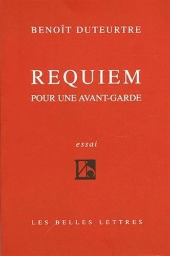 Requiem pour une avant-garde (nouvelle édition)
