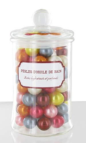 84 perle di bagno madreperlaceo barattolo di vetro
