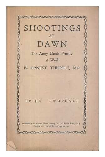 Shootings at dawn : the Army death penalty at work