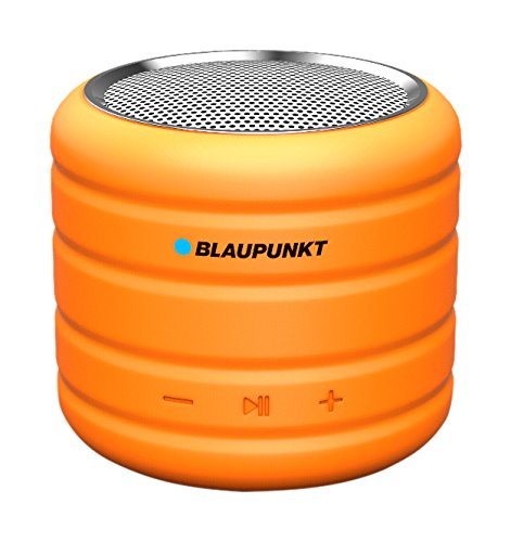 Blaupunkt bt01or altoparlante portatile bluetooth, mp3-player con micro sd (32 gb), radio, batteria 400 mah